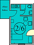 Doppelzimmer 2&6